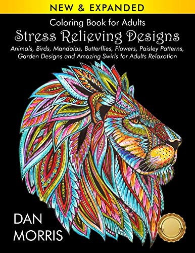 Swirl Garden - Coloring Book for Adults: Stress Relieving Designs: Animals, Birds, Mandalas, Butterflies, Flowers, Paisley Patterns, Garden Designs, and Amazing Swirls for Adults Relaxation