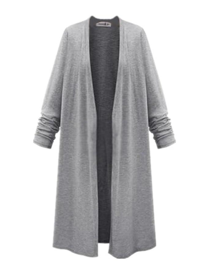BESTHOO Manteau Femme Veste Automne Hiver Long Jacket