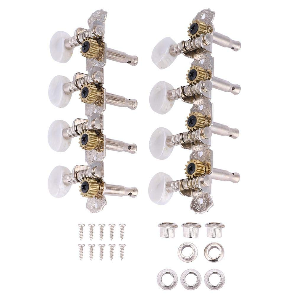 Dilwe Piroli Accordatura per Corde per Mandolino a 8 Corde, Tuning Meccaniche per Mandolino