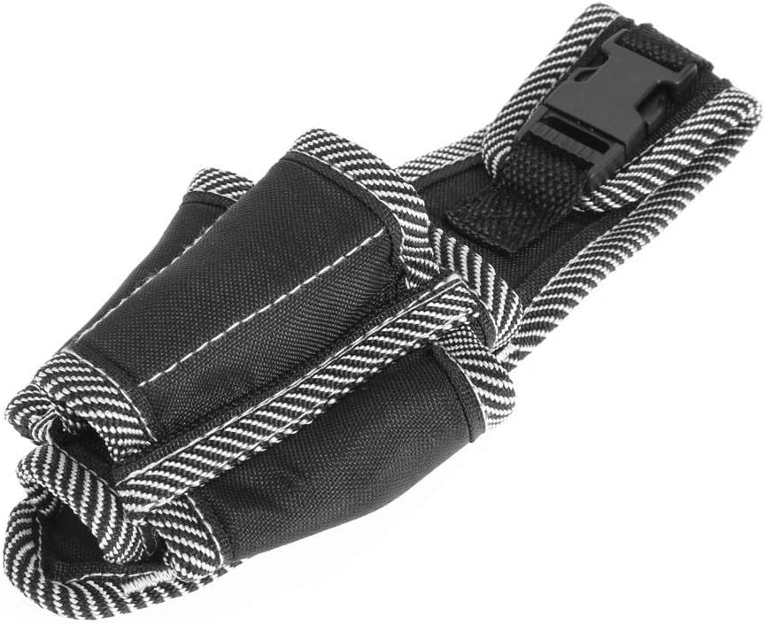 Multifunctional Electrician Tool Bag Bolsa de almacenamiento de herramientas Bolsa Cintura Bolsillo de bolsillo Cintur/ón Soporte de almacenamiento Negro Electrician Tool Bag