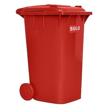 Mini Mülltonne Kleine Ausführung In Der Farbe Rot Amazonde