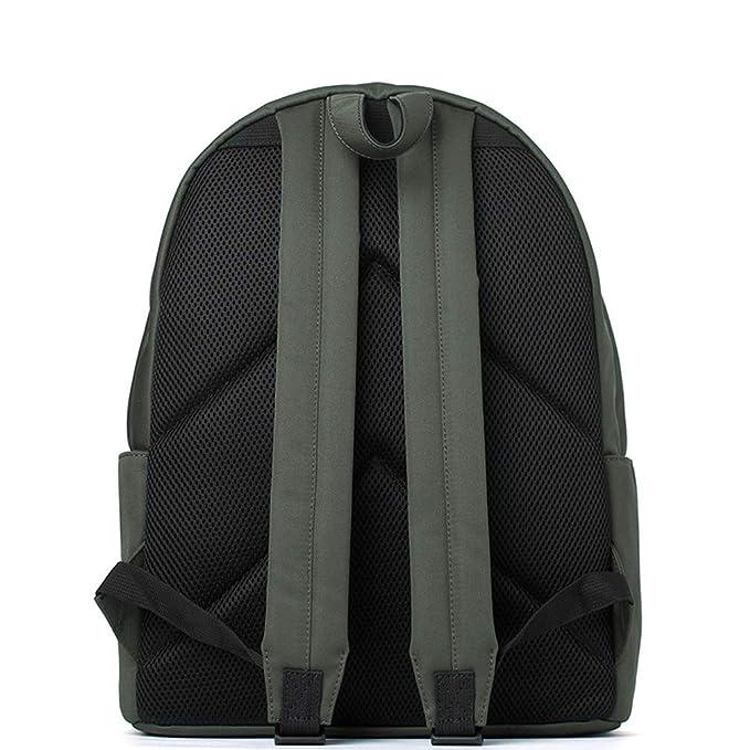 Amazon.com: New Backpack Leisure Womens bag Tide Solid Color Joker Bag: Clothing