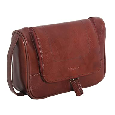 be0df4488f4 Image Unavailable. Image not available for. Colour  Ashwood Chelsea Leather  Hanging Wash Bag