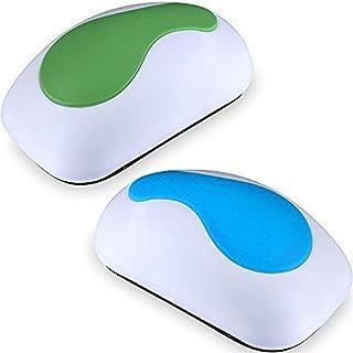 EAONE 24 Paquet de Gomme Tableau Blanc Magn/étique Brosse Effaceur avec 8pcs aimants pour tableau blanc pour Effacer Lessuie-Glace pour le Bureau /à Domicile de Classe Bleu