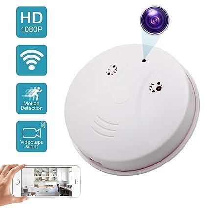 amazon com daretang updated wifi smoke detector hidden camera
