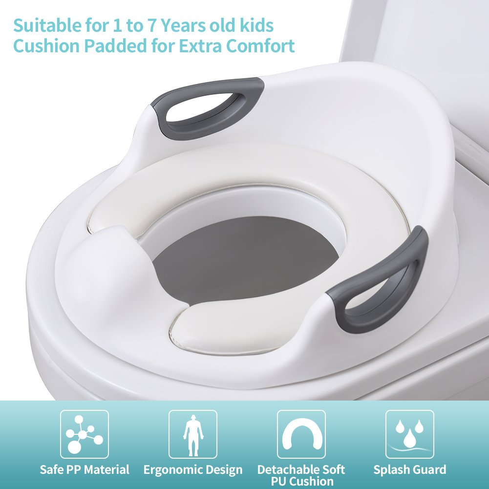 Rotho Babydesign Toilet Seat White Bella Bambina 200230001 From 24 Months