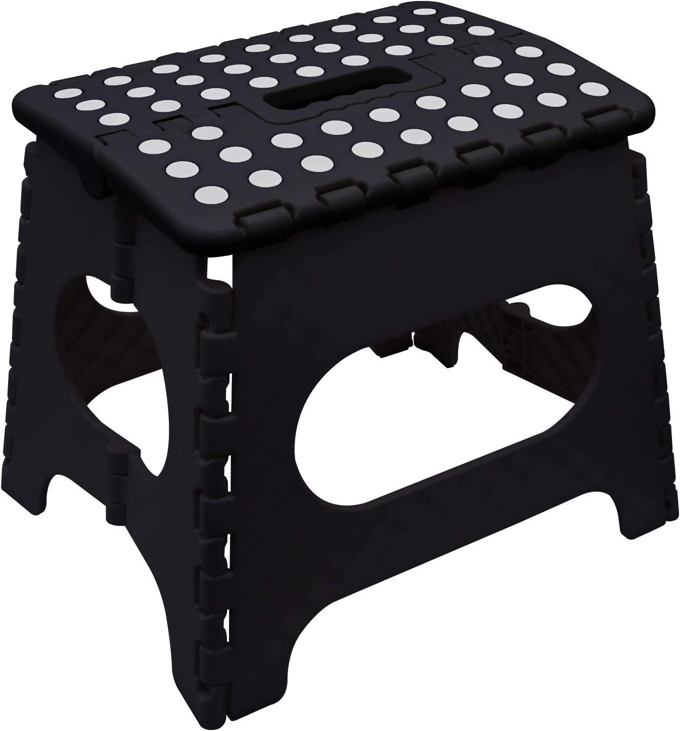 Easy Folding Stool Home Kitchen Garage Skid Resistant Strong Extra Max 100 Kg by Knight