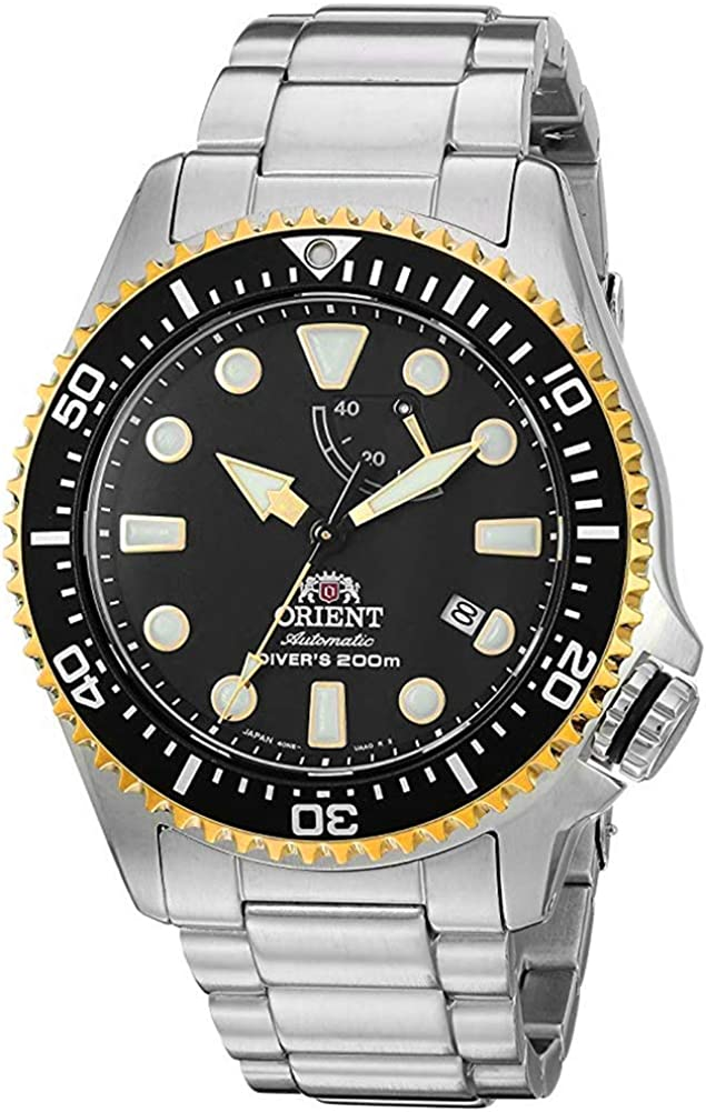 Orient Men s Neptune Japanese Automatic Hand-Winding JIS Certified 200 Meter Diver s Watch with Sapphire Crystal