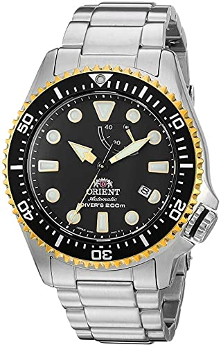 Amazon.com: Orient Men's Neptune Japanese Automatic / Hand Winding  Stainless Steel Bracelet Diver Watch, Silver: Watches