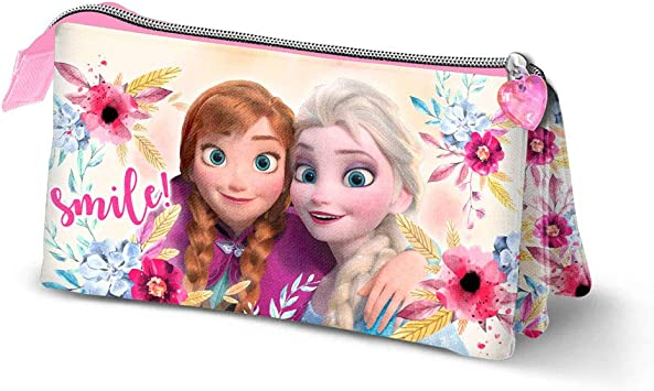 Karactermania Frozen Smile-astuccio Portatutto Triplo Estuches 23 Centimeters Multicolor (Multicolour): Amazon.es: Equipaje