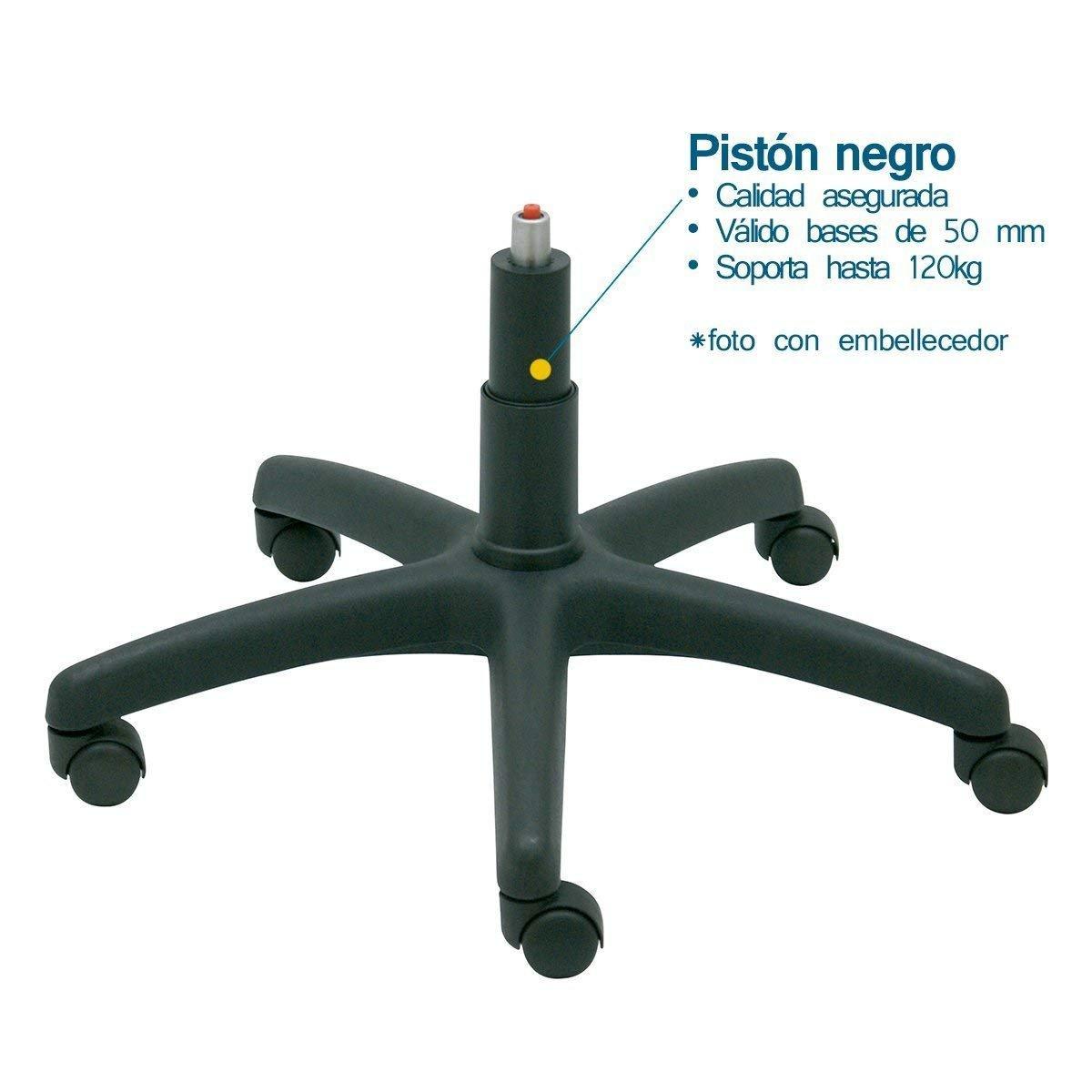 La Silla de Claudia - Pistón de gas estándar corto para silla de oficina muelle repuesto de calidad sillas giratoria soporta 120 kg