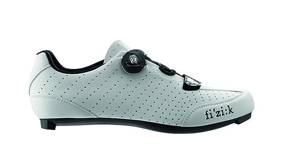Fizik R3 UOMO BOA - Zapatillas de ciclismo de carretera, hombre, R3M-BC2010-16-46, blanco/negro, 46: Amazon.es: Deportes y aire libre