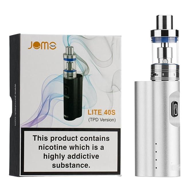 4 opinioni per Sigarette elettroniche 40W Kit, JOMO TECH Lite 40S e-Cigarette 2200mAh Batteria