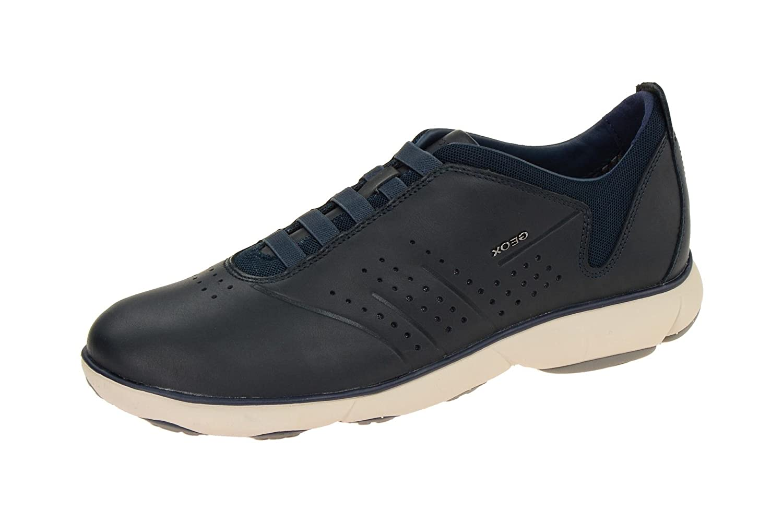 Geox U72d7a 00085c4002 - Mocasines de Piel Lisa para hombre: Amazon.es: Zapatos y complementos