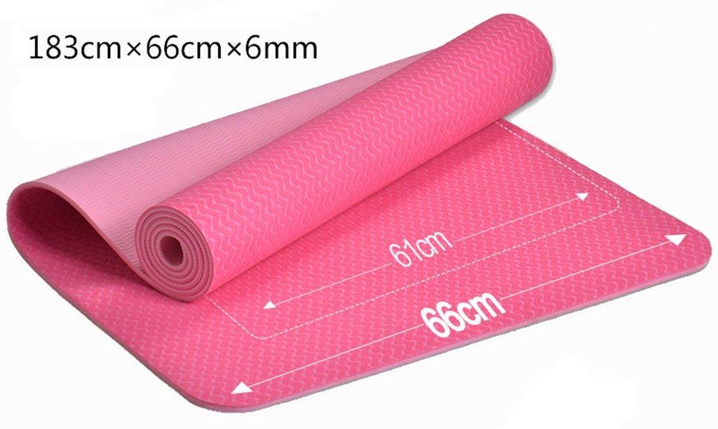 Rose EU8 Tapis de Yoga Tapis d'exercice Anti-dérapant pour Tapis de Yoga