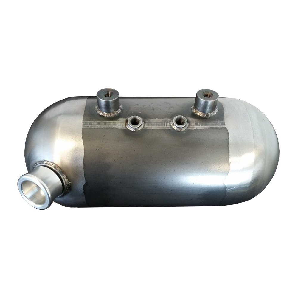 CDC 6in Tank for Chopper Motorcycles 100% TIG 120 Wall