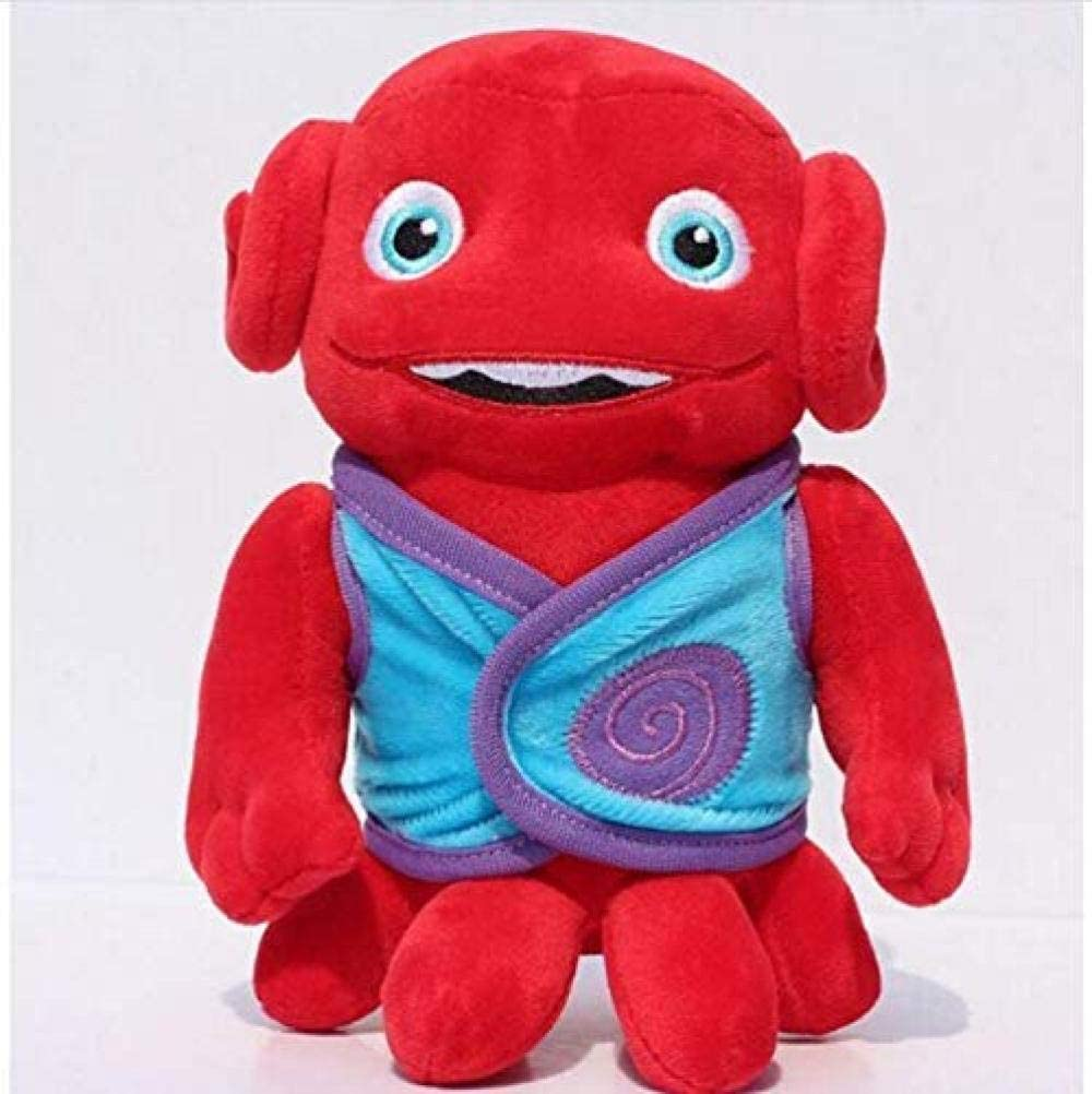 N-L Cartoon Doll Plush Toy Home Oh Toys Boov Kyle Dog Captain Plush Stuffed Dolls Soft Toys Christmas Halloween Birthday Gifts 18Cm