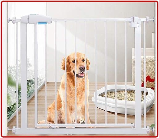 QIANDA Barrera Seguridad Niños Protector Escaleras Bebe con Puerta De Paso De 65cm A Presión Seguridad Puerta Guardia De Escalera Barrera Efectiva Todos Los Anchos 77-225cm (Size : 176-183cm): Amazon.es: Hogar
