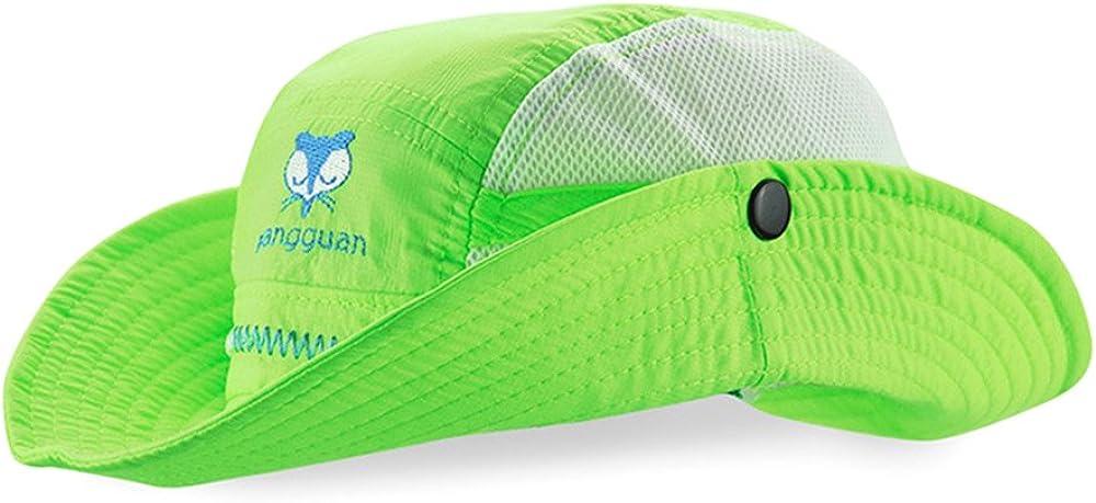 Cappello a Tesa Larga da Spiaggia con Stampa Rapida Fox Hat da Spiaggia per Bambina Cappello Estivo da Bambina Cappello da Pescatore da Sole Cappello da Pescatore con Cinturino