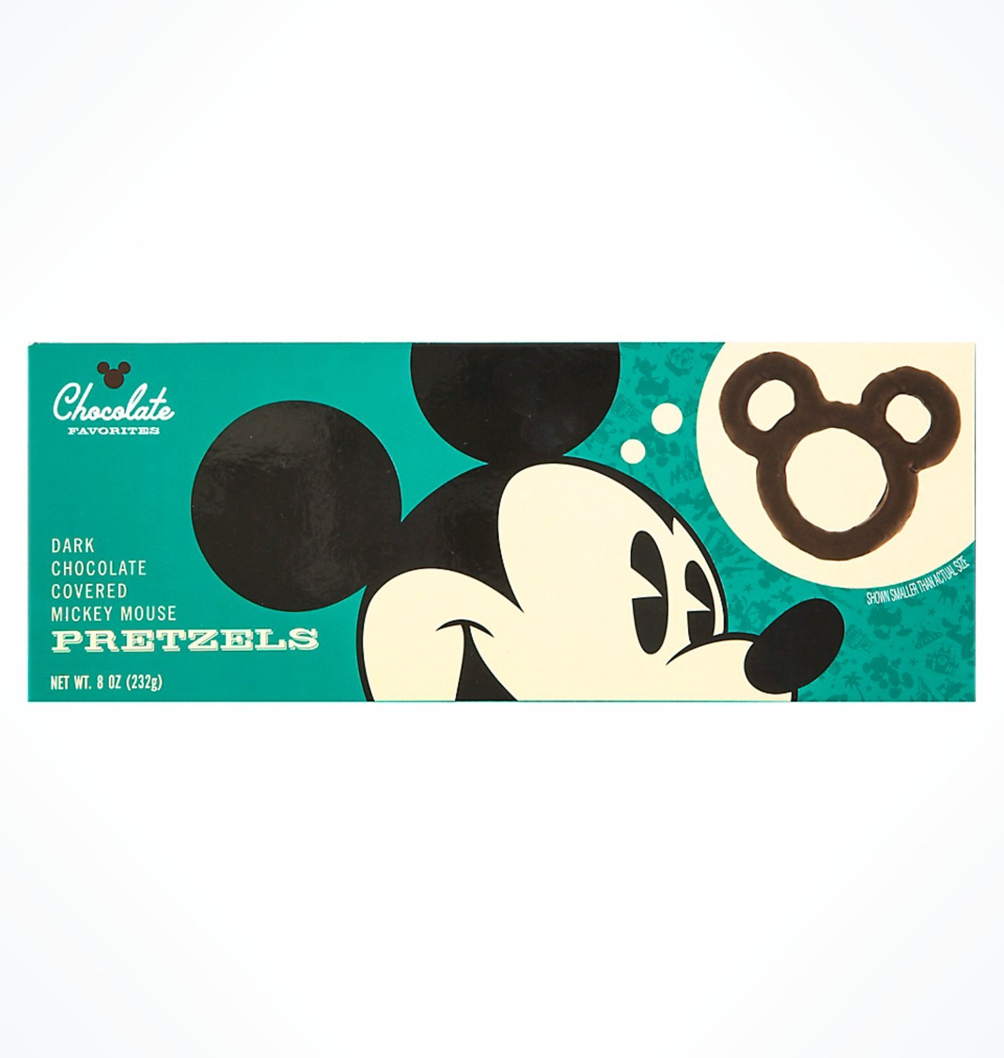 Disney Park's Chocolate Favorites- Dark Chocolate Covered Pretzels by Chocolate Favorites Assorted Chocolates
