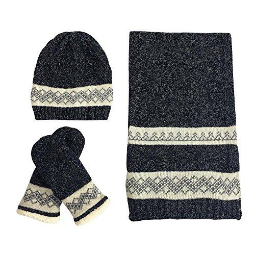 Women's Winter Set, Hat Scarf Glove Matching Set Soft War...