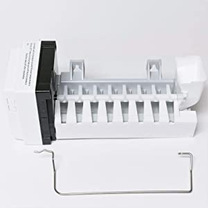 Compatible Ice Maker for Whirlpool WRF555SDF, WRX735SDB, GI6SARXX Refrigerator Models