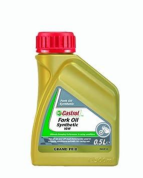 Castrol 17926585 - Aceite sintético para suspensión de motocicletas (10W, 500 ml)