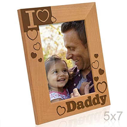 Amazon Kate Posh I Love Daddy Picture Frame 5x7 Vertical