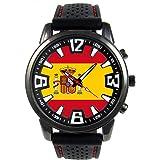 Timest - España - Reloj para hombre con correa de silicona negro Analógico Cuarzo SF205