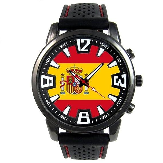 2c1c10878620 Timest - España - Reloj para Hombre con Correa de Silicona Negro Analógico  Cuarzo SF205  Timest  Amazon.es  Relojes