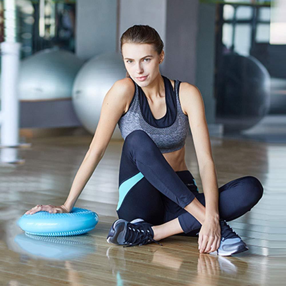 Blu TESITE Istruttore di Massaggio Riabilitativo Addensante per Tampone Yoga