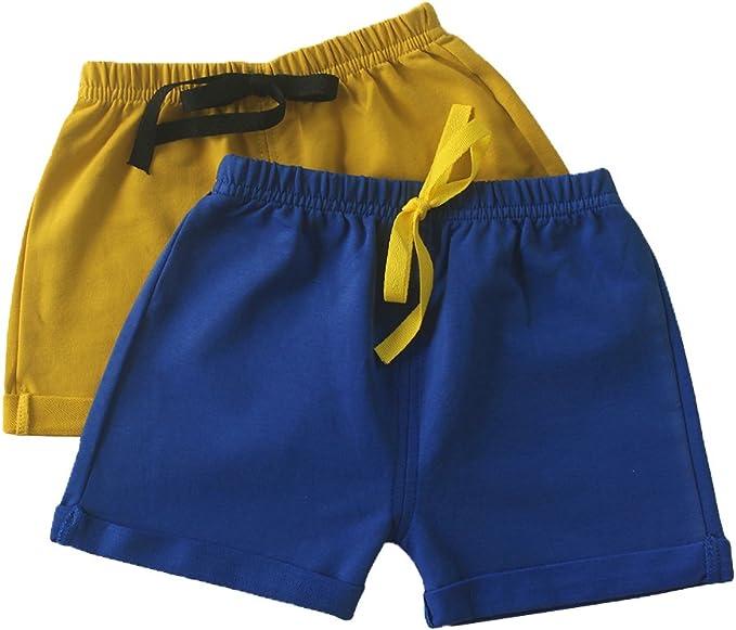 RieKet Toddler Baby Boys 2-Pack Shorts