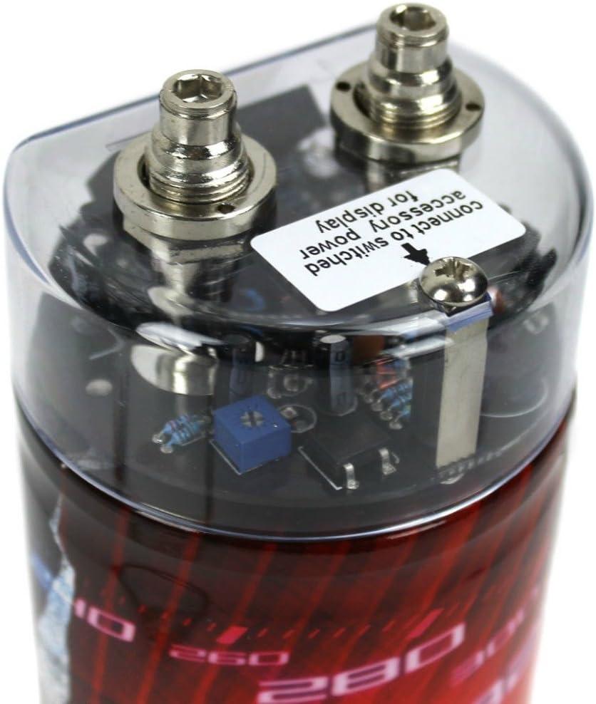 Rockford RFC1 color negro y plata Condensador