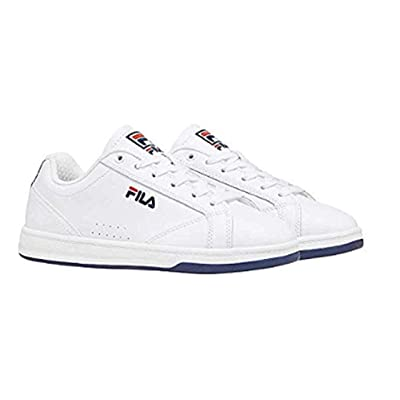 Fila Womens Reunion Leather Low Top Court Shoe - Casual White Sneakers (7.5) | Fashion Sneakers [3Bkhe1506681]