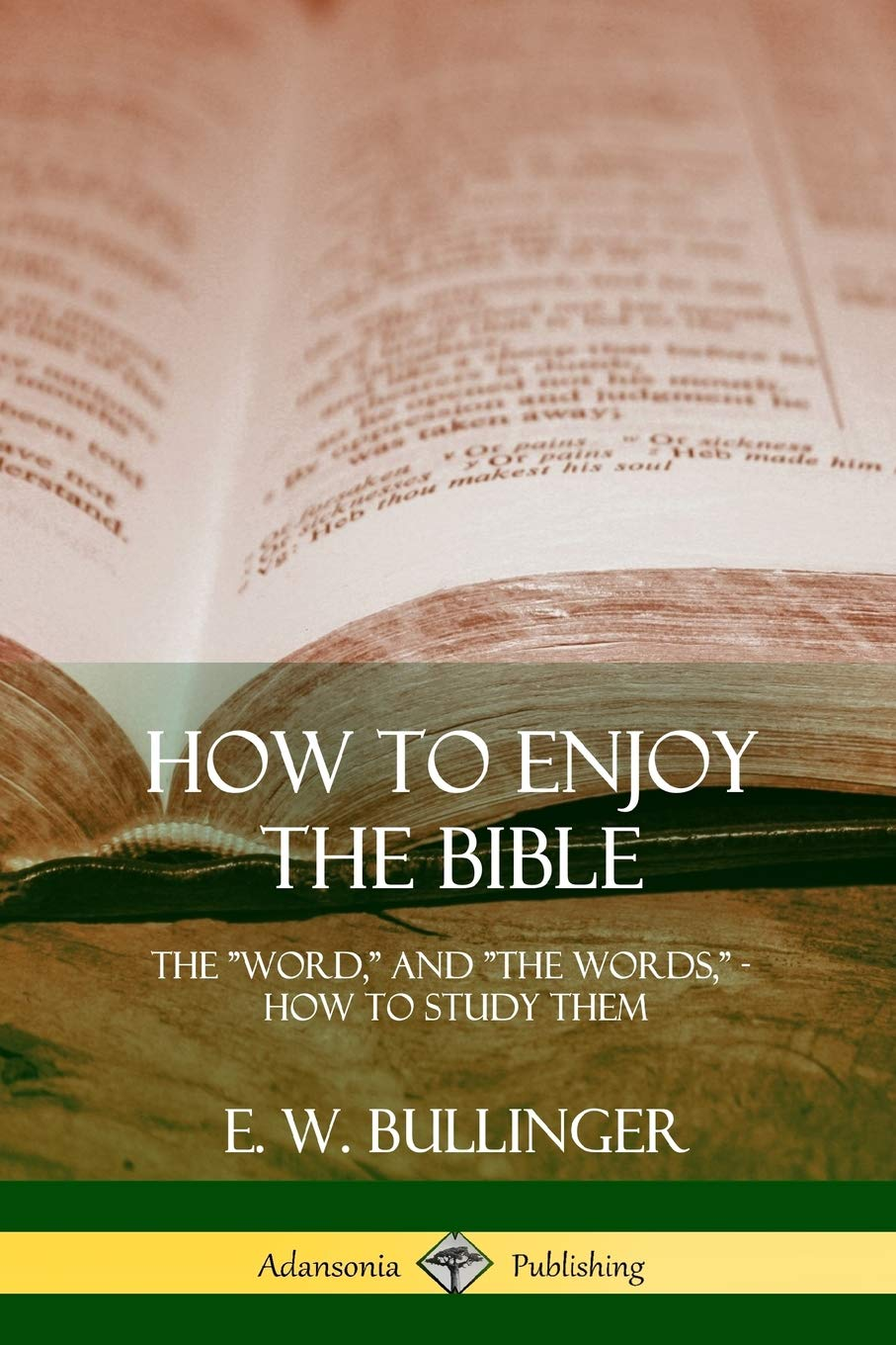 """How to Enjoy the Bible: The """"Word, """" and """"The Words, """", How to Study them:  E. W. Bullinger: 9781387997435: Amazon.com: Books"""