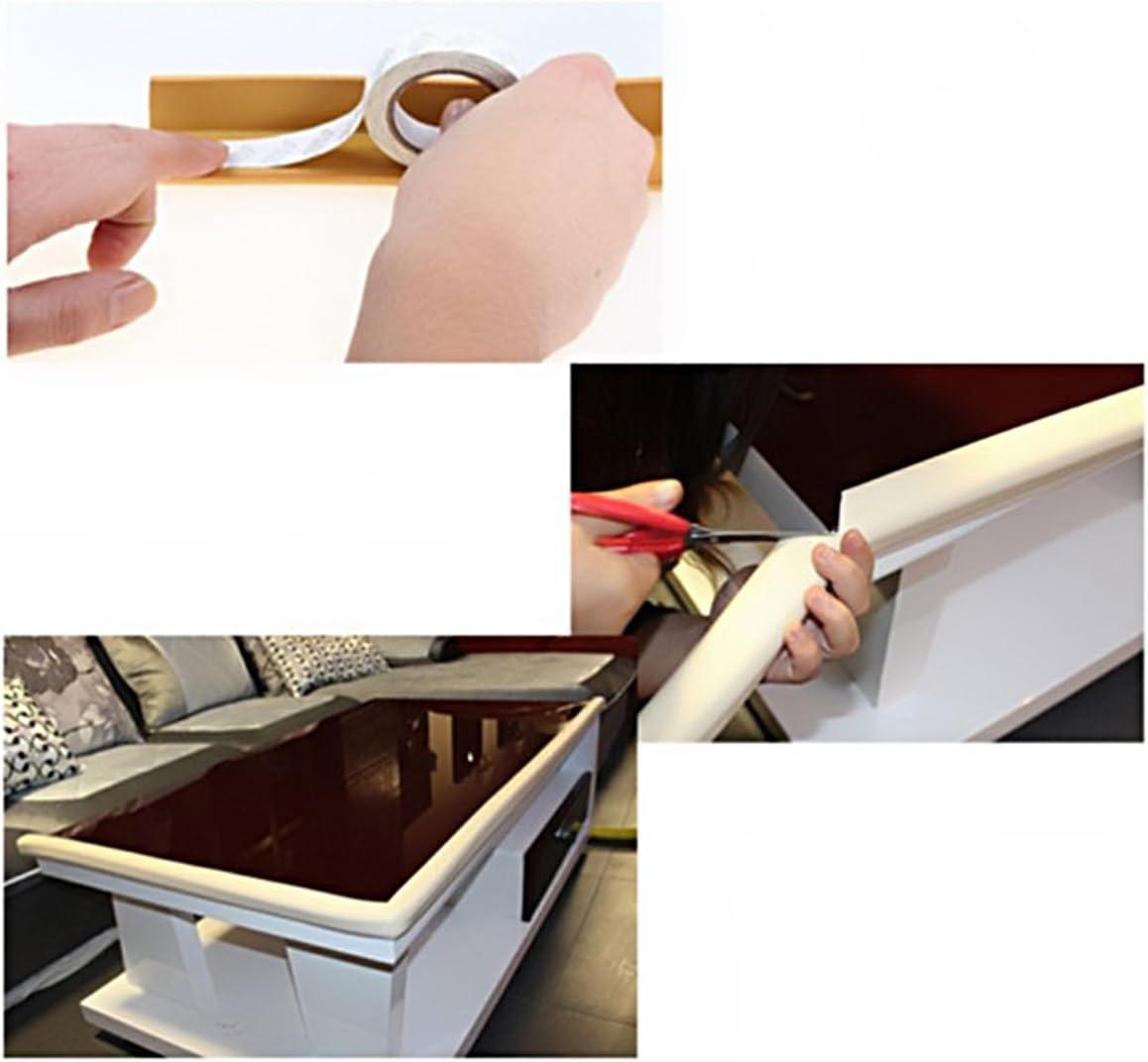 weiche ungiftig 2M LEORX Tabelle Guard Sto/ßstange Strip Baby Kantenschutz rosa