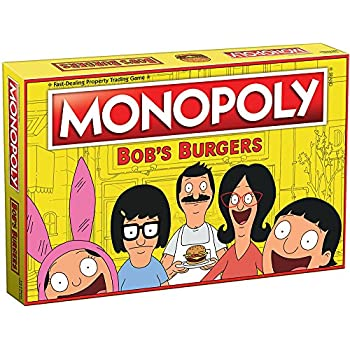 USAopoly Bob's Burgers Edition Monopoly Board Game