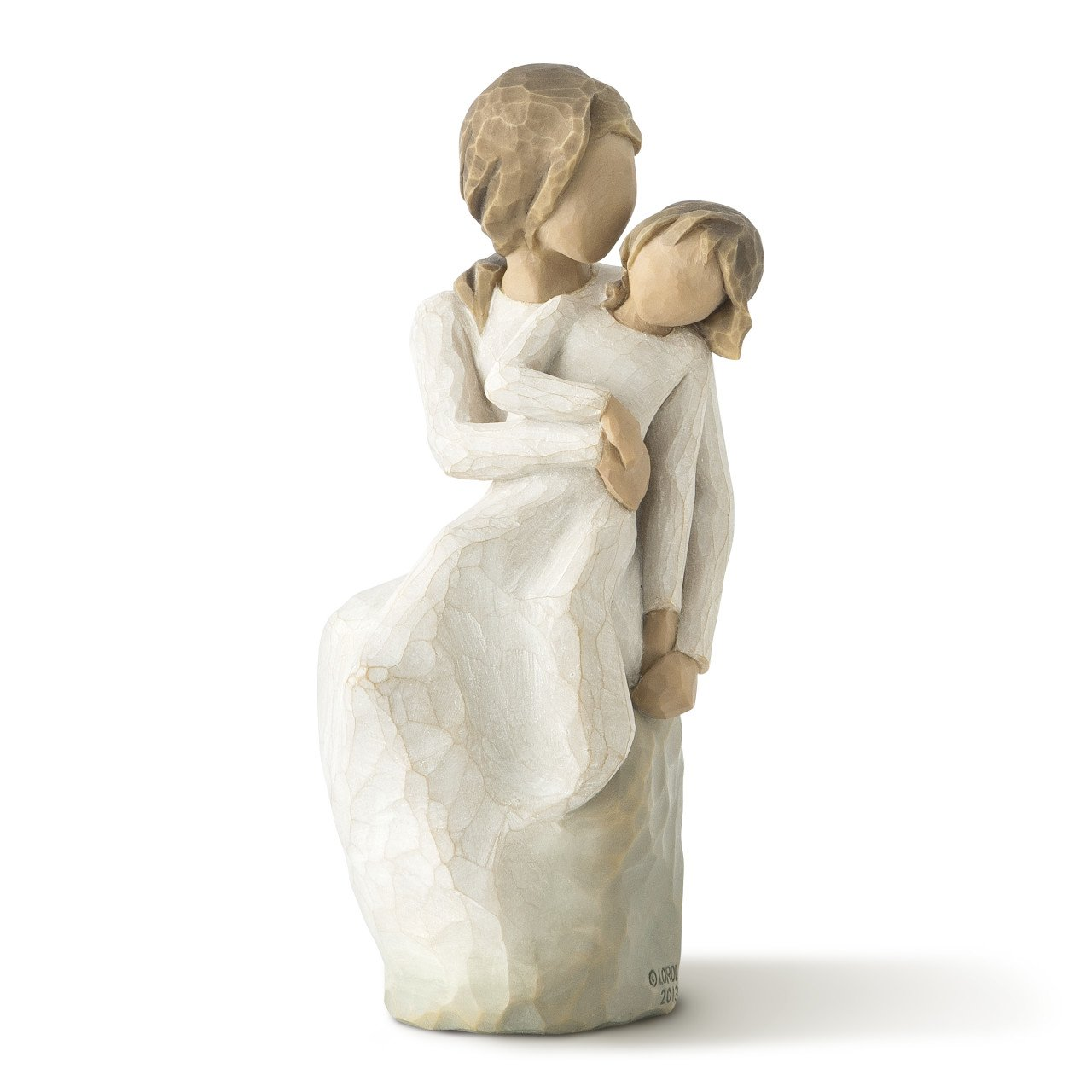 Willow Tree hand-painted sculpted figure, MotherDaughter