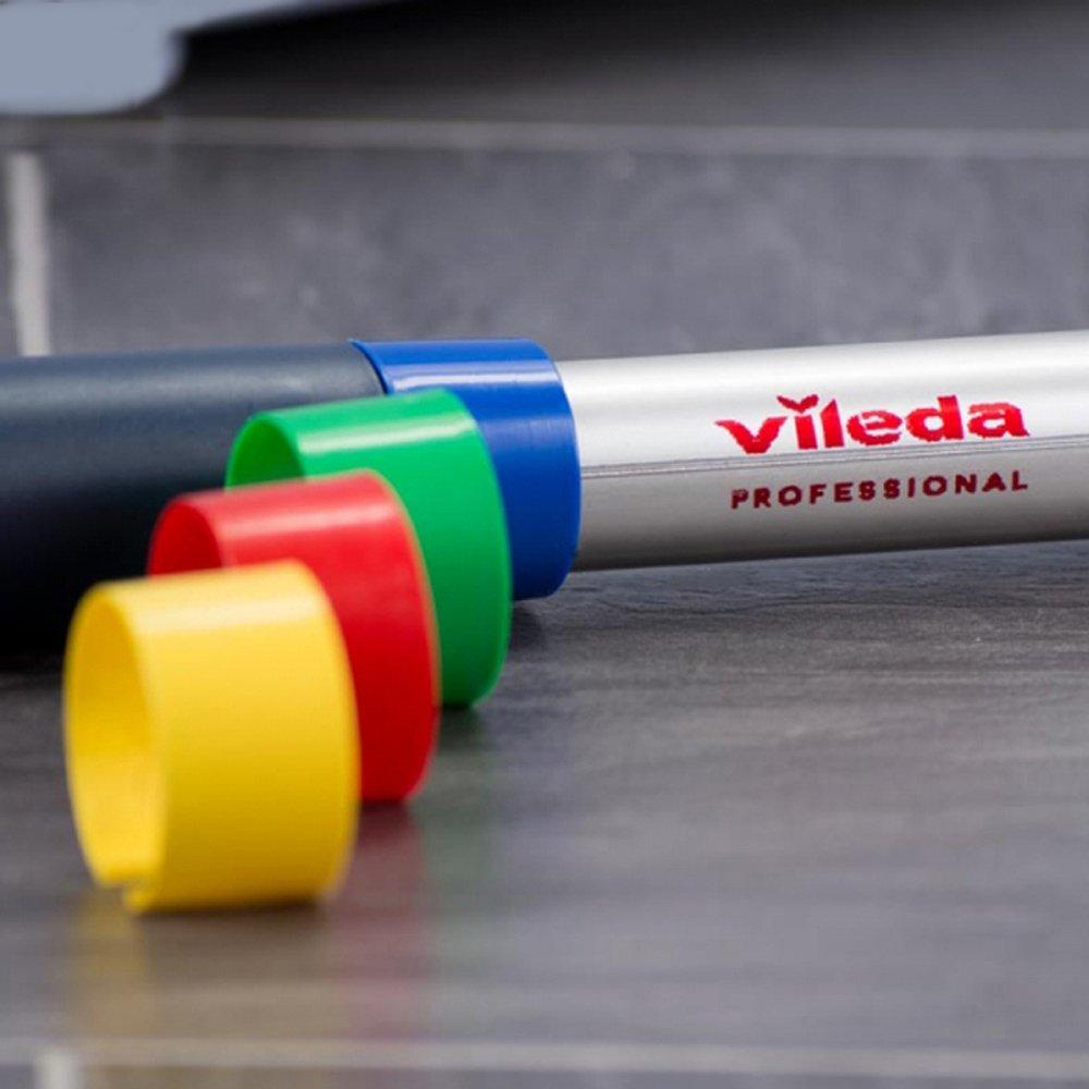 Vileda 119966/Teleskopstiel mit sortiert Clips