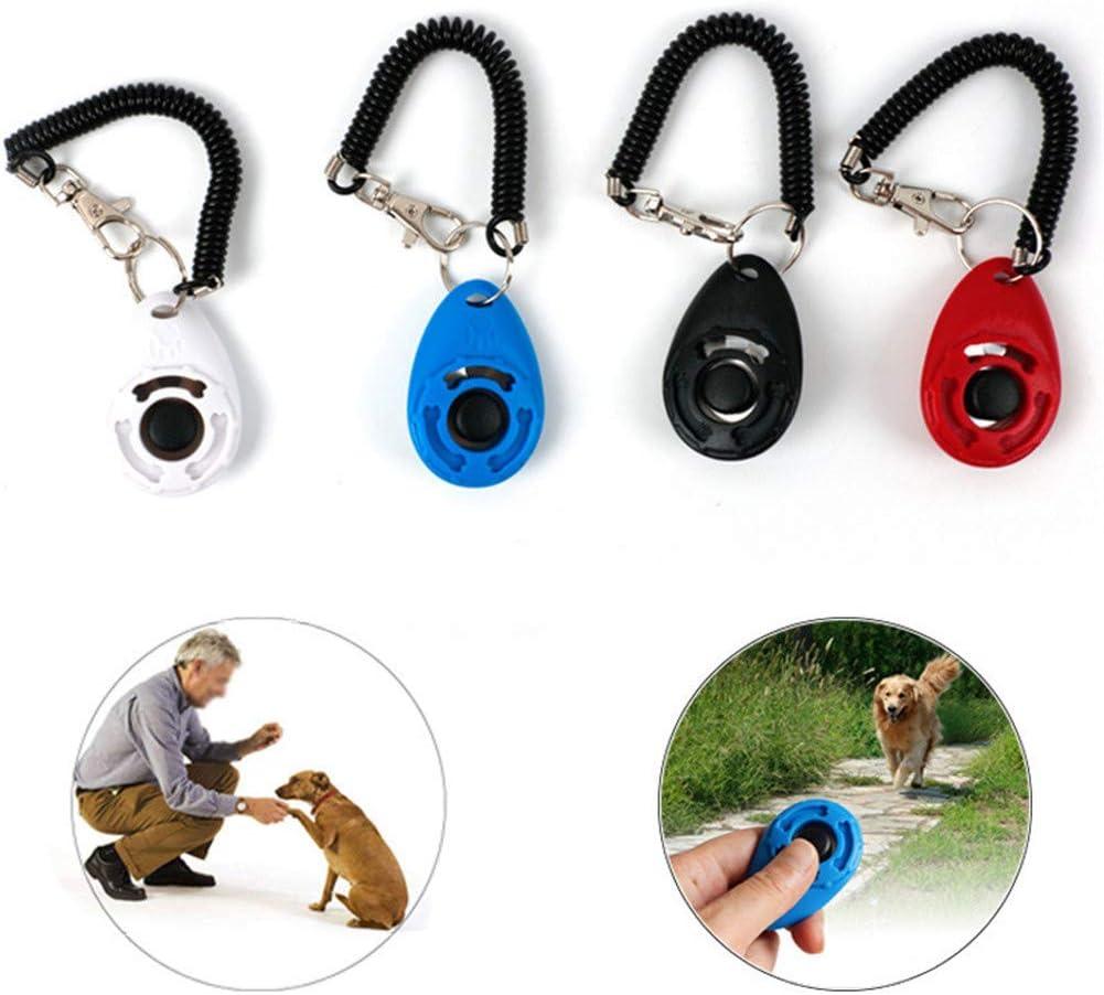 Yongkanghappy Clicker Training For Dogs Clicker For Dogs Pet Clicker Puppy Clicker Training Kit Dog Behaviour Trainer Dog Training Aids Dog Clicker Training 2pcs