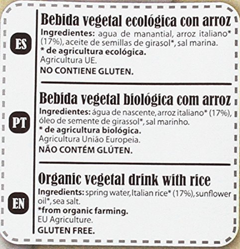 La Finestra Sul Cielo Bebida Vegetal de Arroz Sin Gluten - Paquete de 6 x 1000 ml - Total: 6000 ml: Amazon.es: Alimentación y bebidas