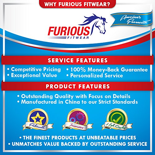 Furious Fitwear Instant Cooling Towel for Quick Relief, Blue