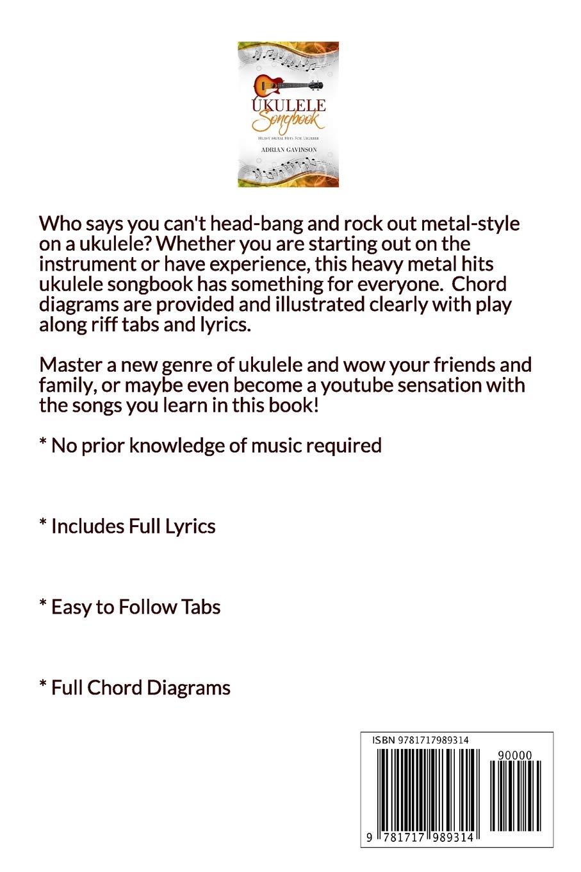Ukulele Songbook: Heavy Metal Hits for Ukulele: Amazon.de: Adrian ...
