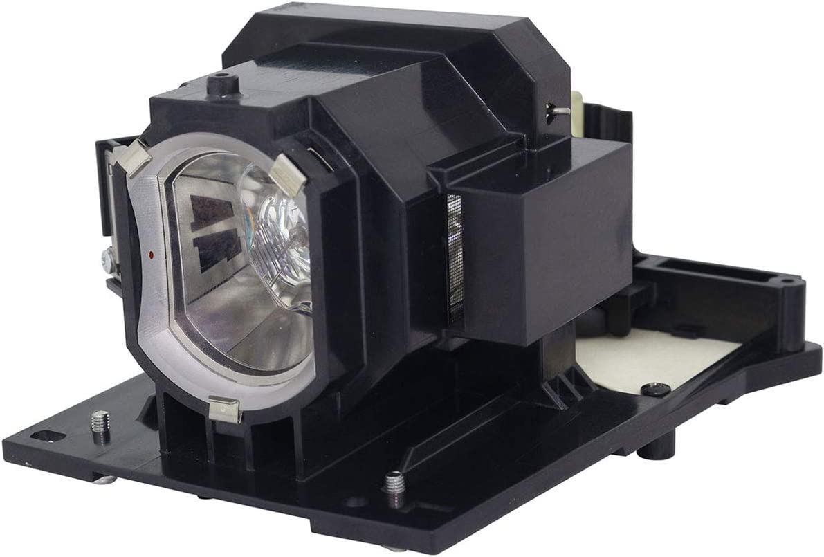 Lutema Platinum for Hitachi CP-X5550 Projector Lamp with Housing Original Philips Bulb Inside