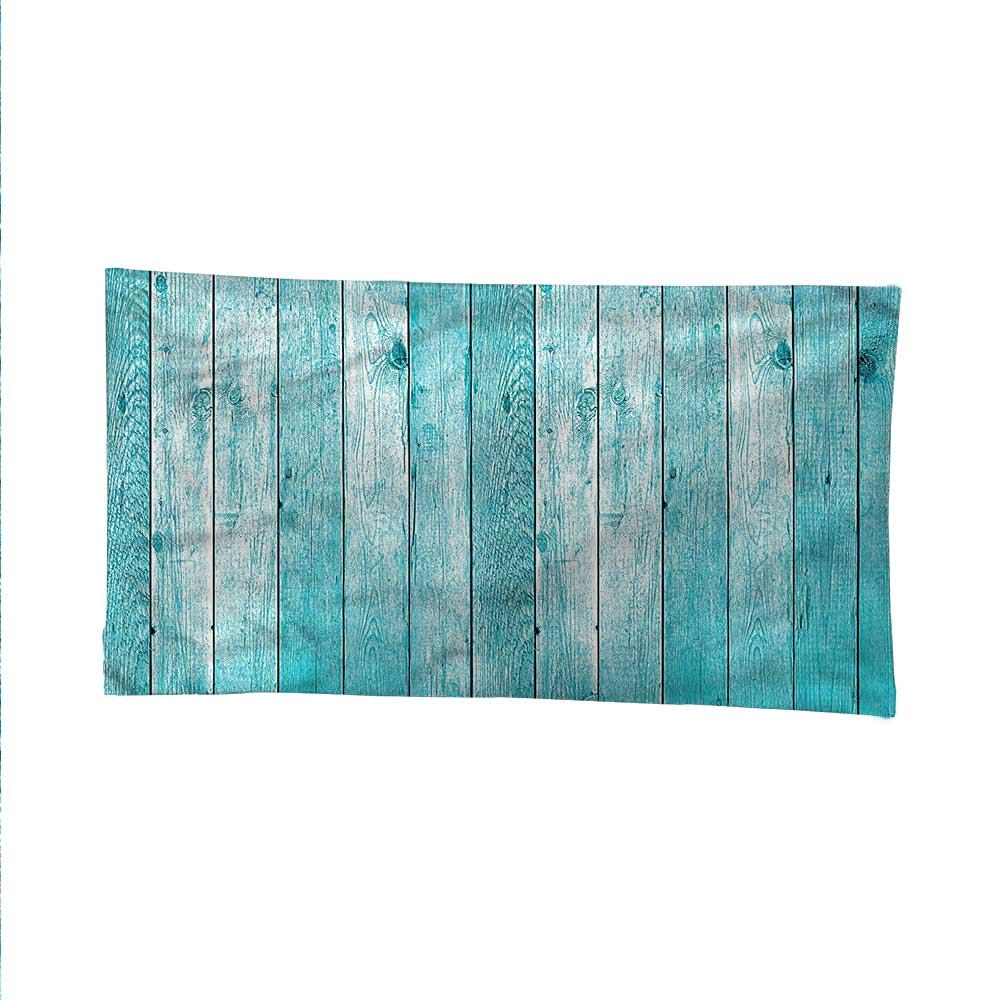 Turquoiseocean tapestrylarge tapestryAged Old Wooden Planks 84W x 54L Inch