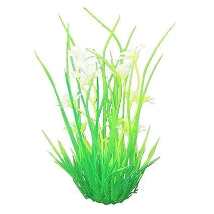 daimo Plantas de simulación de Acuario Plantas de plástico ...