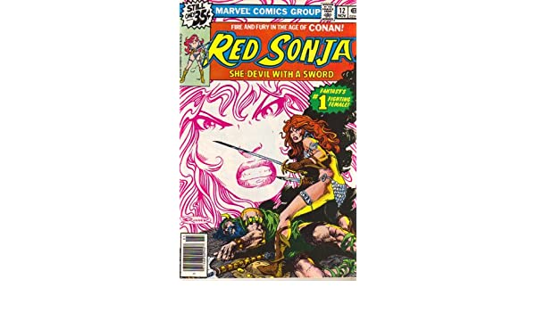 Red Sonja, She- Devil with a Sword, No. 12: Roy Thomas ...