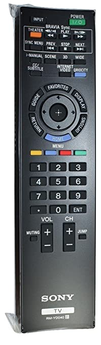 sony tv remote rm yd005. new sony tv remote control for rm-yd035 rmyd035 sony tv remote rm yd005