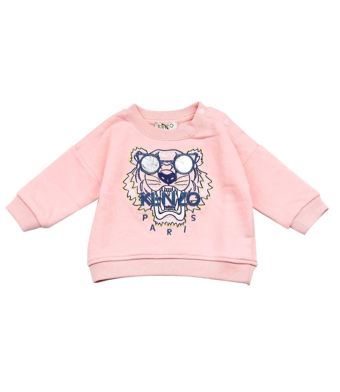 Kenzo Kids Felpa Tiger Bambino Baby Girl Mod KN15108-BB 6M