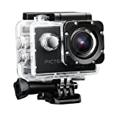 Pictek Waterproof Camera, Action Camera, Sport Camera, Wifi Action Camera, with 12MP 1080P HD 30meter Deep,with 2-inch LCD Display for Outdoor Sports